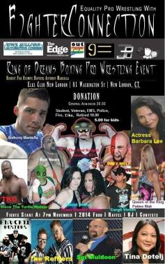 OutCT Wrestling Event poster