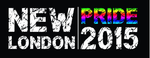 New London Pride 2015 logo black